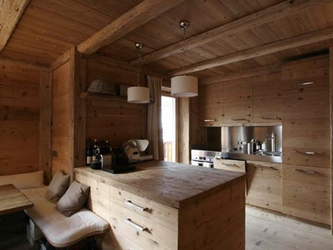 Insam bruno studio architettura d 39 interni for Arredamento stube tirolese